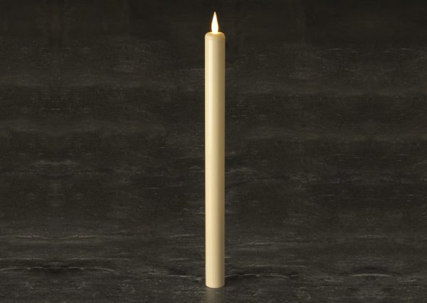 """17"""" Battery operated Taper Candle SC2770WW"""