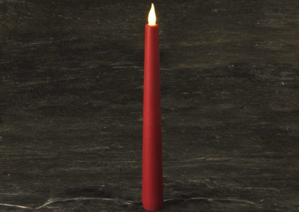 Silicone Taper Candle SC2763S-R